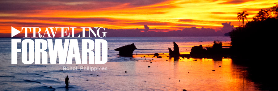 Traveling Forward in Bohol, Phiippines